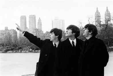 The Beatles in Central Park, New York City, 8 February 1964