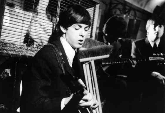 The Beatles filming I Should Have Known Better, 11 March 1964