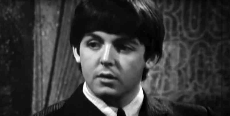 Paul McCartney on A Degree Of Frost, 15 April 1964