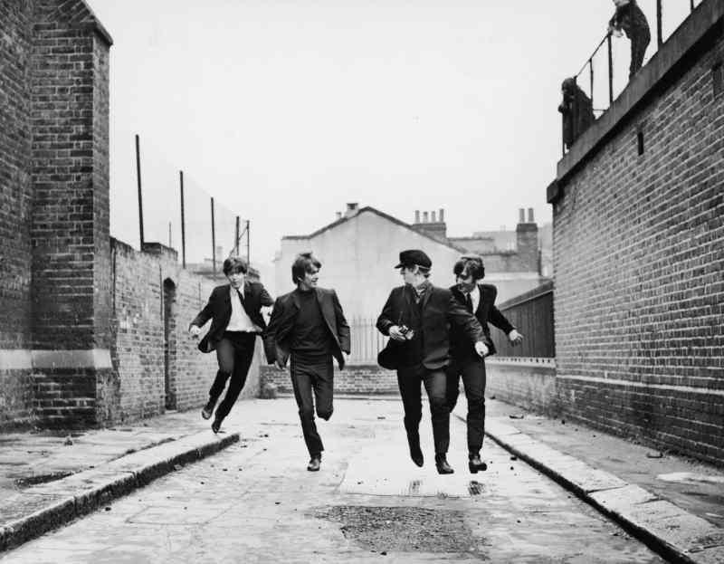 The Beatles in A Hard Day's Night, 16 April 1964