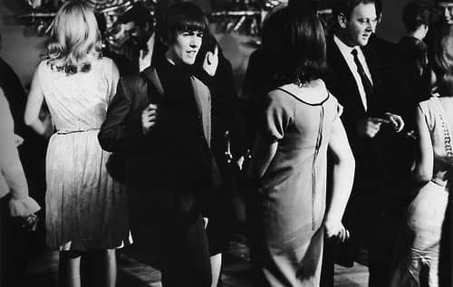George Harrison in A Hard Day's Night, 17 April 1964
