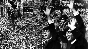 The Beatles in Melbourne, Australia, June 1964