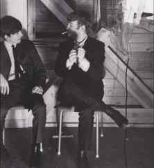 John Lennon and George Harrison, 1964