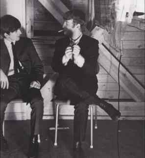 John Lennon and George Harrison, 1964