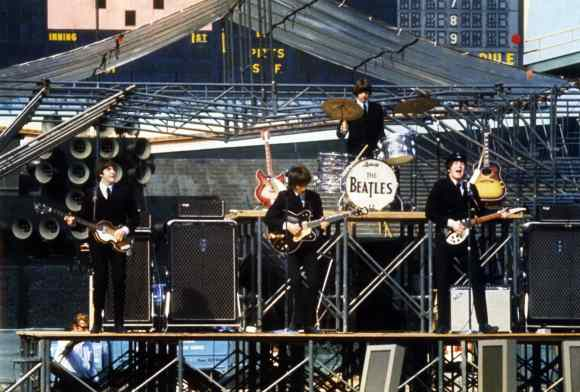 The Beatles live in Chicago, 20 August 1964
