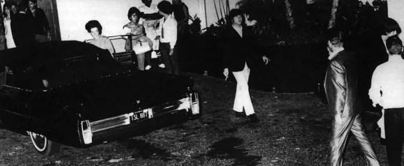 The Beatles and Elvis Presley in Los Angeles, 27 August 1965