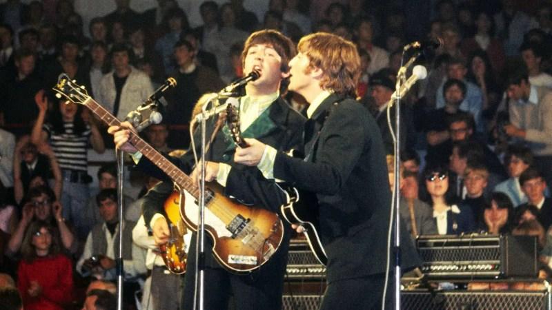 The Beatles live in Essen, Germany, 25 June 1966