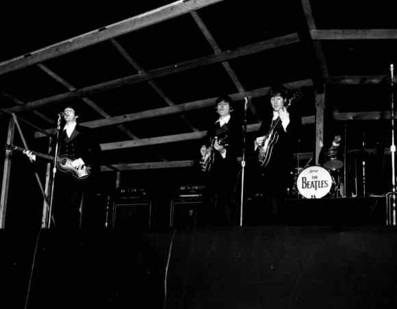 The Beatles at Suffolk Downs Racetrack, Boston, USA, 18 August 1966