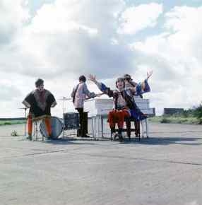 The Beatles filming I Am The Walrus for Magical Mystery Tour, September 1967