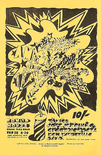 Poster for the Carnival Of Light event, 28 January 1967