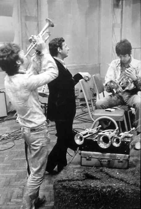 The Beatles with Brian Epstein, 25 June 1967