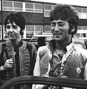 John Lennon and Paul McCartney, 1967