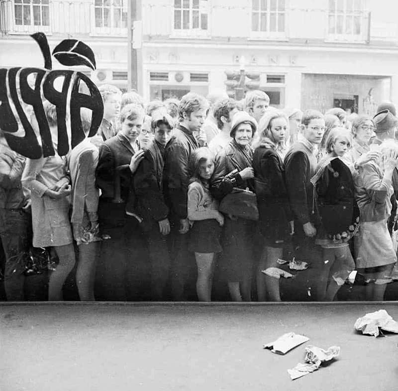 The Beatles' Apple Boutique closes down, 31 July 1968