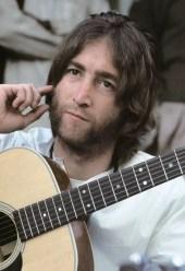 John Lennon, India, 1968