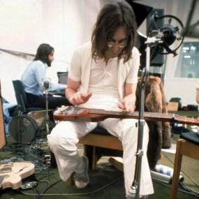 The Beatles at Apple Studios, January 1969