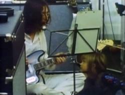 John Lennon recording The Beatles' song Dig It, 26 January 1969