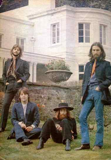 The Beatles' final photography session, Tittenhurst Park, 22 August 1969