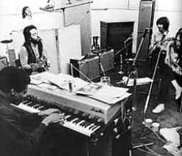 The Beatles with Billy Preston, January 1969