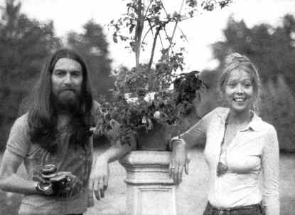 George and Pattie Harrison, 1970