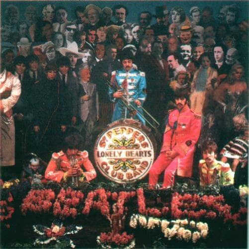 Alternative photograph from the Sgt Pepper cover shoot