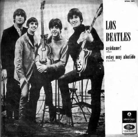 Help! single artwork - Argentina