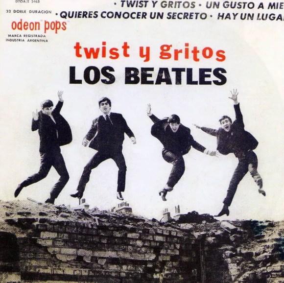 Twist Y Gritos EP artwork - Argentina