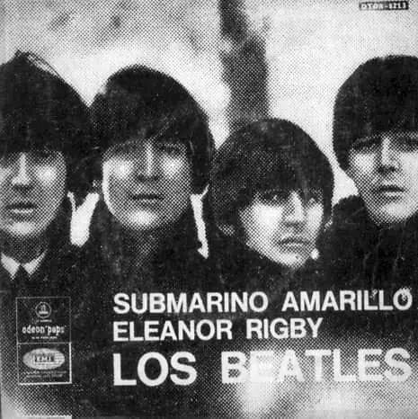 Yellow Submarine single artwork - Argentina