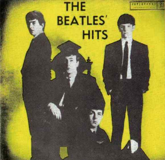 The Beatles' Hits EP artwork - Australia