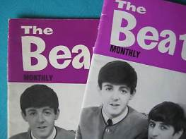 Beatles Book Monthly issue 1 – original and reprint