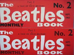 Beatles Book Monthly issue 2 – original and reprint