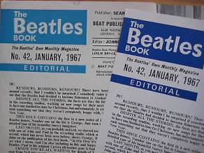Beatles Book Monthly issue 42 – original and reprint