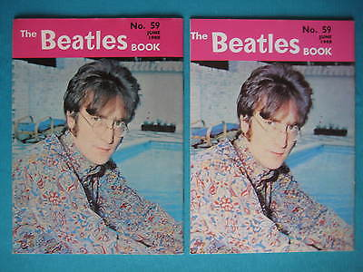 Beatles Book Monthly issue 59 – original and reprint