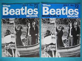 Beatles Book Monthly issue 72 – original and reprint