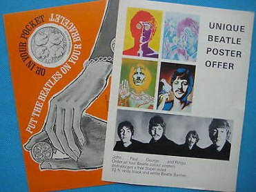 Beatles Book Monthly inserts – issues 32 and 56