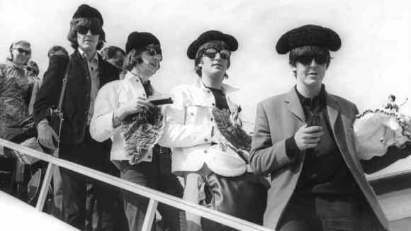 The Beatles in Madrid, Spain, 2 July 1965