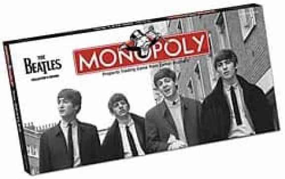 Beatles Monopoly edition
