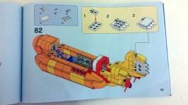 The Beatles' LEGO Yellow Submarine instructions