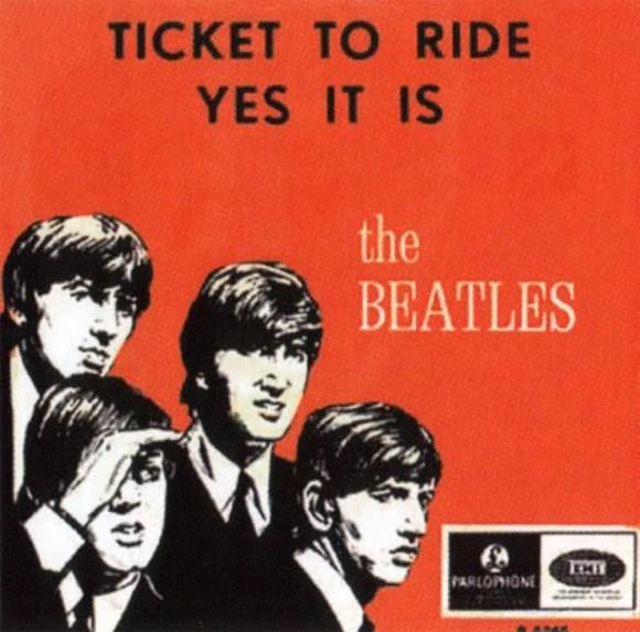Ticket To Ride single artwork - Belgium