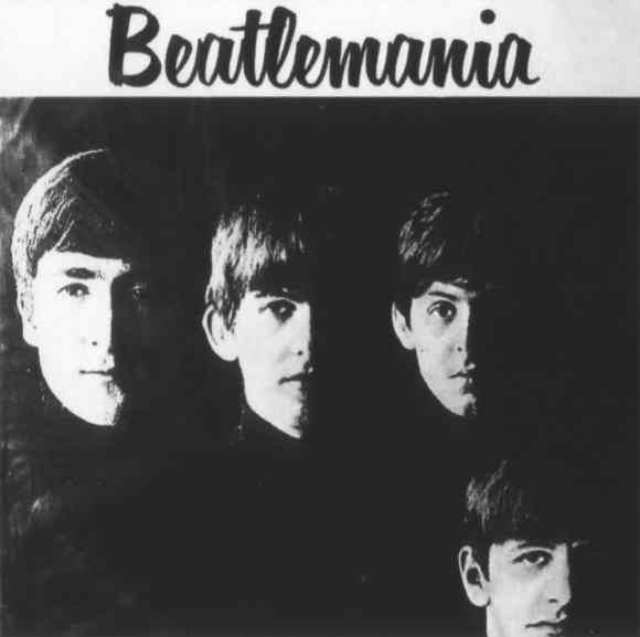 Beatlemania album artwork - Brazil