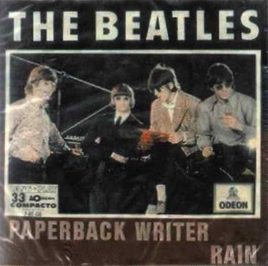 Paperback Writer single artwork - Brazil
