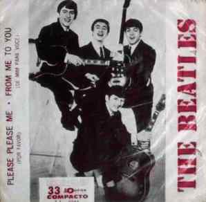 Please Please Me single artwork - Brazil