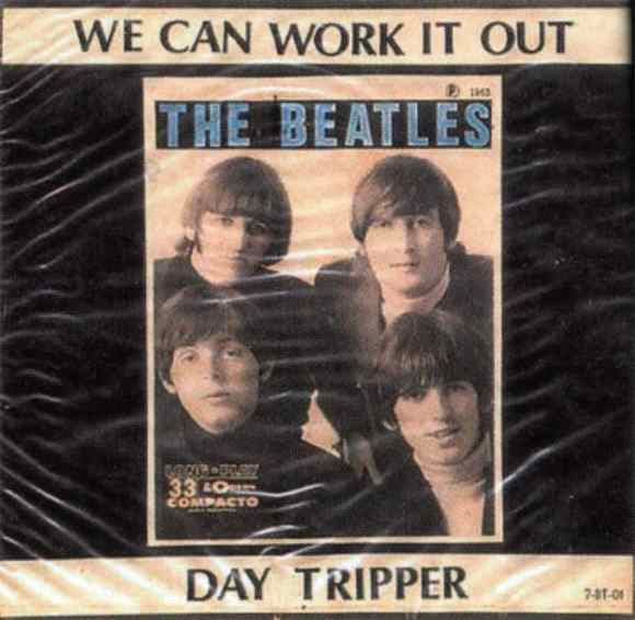We Can Work It Out/Day Tripper single artwork - Brazil