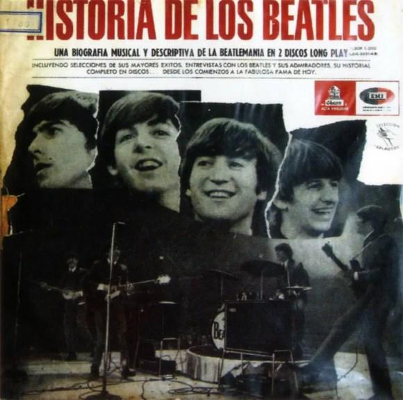 Historia De Los Beatles album artwork - Chile