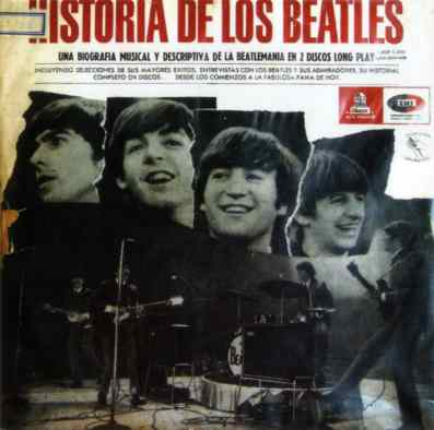Historia De Los Beatles album artwork - Chile