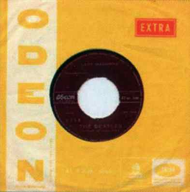 Odeon single sleeve, late 1960s - Chile