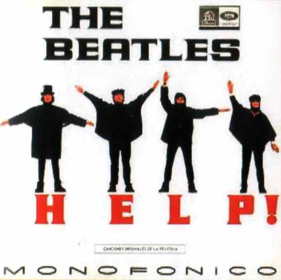 Help! album artwork - Colombia