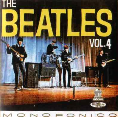 The Beatles Vol 4 album artwork - Colombia