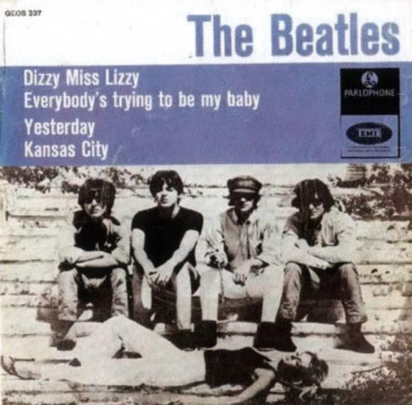 Dizzy Miss Lizzy EP artwork - Denmark