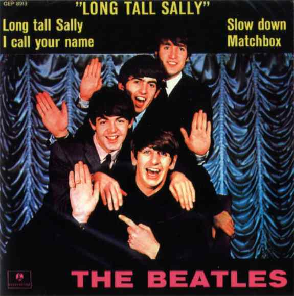 Long Tall Sally EP artwork - Denmark