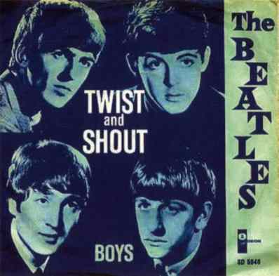 Twist And Shout single artwork - Denmark